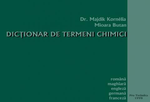 Ötnyelvű kémia szótár